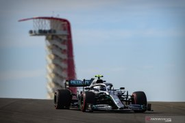 GP AS, Bottas raih pole position