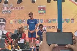 Jesse Ewart pertahankan yellow jersey setelah jadi yang tercepat di etape II TdS