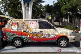 """Mobil cerdas demokrasi """"Moci"""" diluncurkan KPU Kota Sukabumi"""