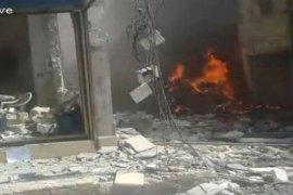 Berita dunia - Sejumlah warga sipil tewas-cedera dalam ledakan di Ar-Raqqa