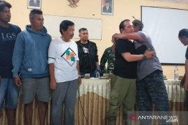 Insiden bentrokan Satpol PP-penambang berakhir damai