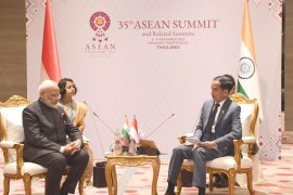 PM Modi apresiasi inisiatif Indonesia atas outlook ASEAN