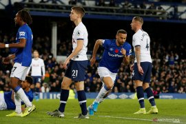 Liga Inggris, berakhir imbang 1-1, pertandingan Spurs vs Everton diwarnai insiden