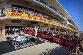 Botas juara di GP AS, Hamilton malah juara dunia F1