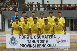 Porwil - Sepakbola Aceh raih emas di Porwil Bengkulu