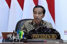 Jokowi kritik pengadaan pacul di kementerian masih impor