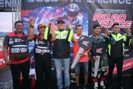 Kejuaraan balap motor piala Kapolres Simalungun sukses