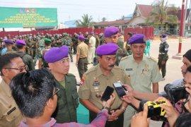 Resimen Mahasiswa Sulthan Thaha  Jambi gelar latihan dasar di Tanjabbar