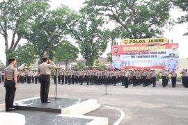 Kapolda Jambi pimpin upacara kenaikkan pangkat dua pamen
