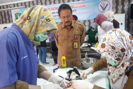 Vaksin dan steril kucing dilakukan Distan Banten  antisipasi rabies