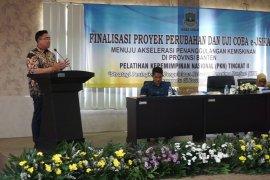 Wagub Banten Andika Hazrumy apresiasi peningkatan pelayanan Jamsosratu dengan e-JSiKa