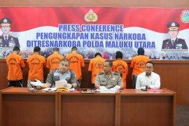 Ditnarkoba Malut tangkap sopir Rutan terkait narkoba