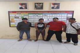 Mencuri betor, residivis bajing loncat ditangkap Polisi Hinai Langkat