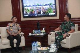 Pertemuan Kapolri-KSAD demi kuatkan sinergitas Polri-TNI