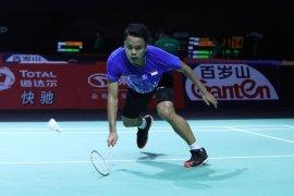 Anthony Ginting susul Jonatan ke perempat final Hong Kong Open