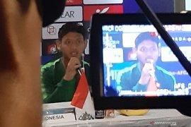 Pelatih Timnas U-19 sebut Muhammad Salman penampil terbaik kontra Timor Leste