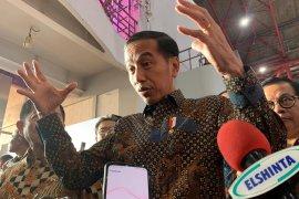 Jokowi sebut calon dewas KPK masih dalam penggodokan