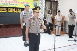 Kapolres pimpin sertijab pejabat utama di Polres Binjai