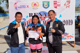 Porwil Sumatera 2019 perenang putri Jambi sumbang tiga emas