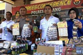 Kasus peredaran obat tanpa izin diungkap Polres Malang