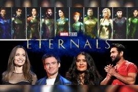 """Seluruh pemeran dan kru Marvel """"The Eternals"""" dievakuasi karena bom"""