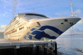 Pelabuhan Gili Mas mulai disandari kapal pesiar 300 meter