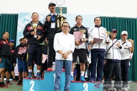 Tim tenis lapangan Undiksha sabet juara umum LPTK Cup 2019