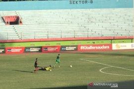 Liga 1: Bhayangkara FC unggul 1-0 atas Persipura di babak pertama