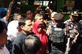 Mendikbud Nadiem takziah ke keluarga korban sekolah ambruk