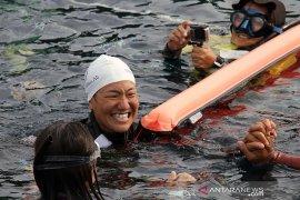 Atlet freediving internasional kagum keelokan Teluk Balohan Sabang