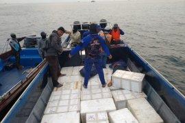 Polairud Kepri ungkap penyelundupan benih lobster senilai Rp66 miliar