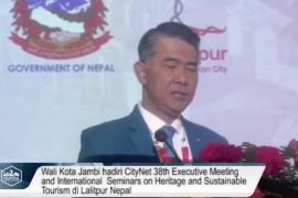 Kota Jambi diterima menjadi anggota City Net dalam pertemuan di Nepal
