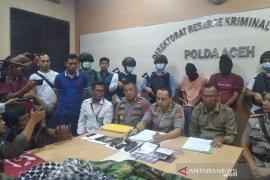 Polda Aceh sita senjata api dan seragam loreng dari penyebar video rasial