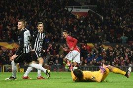 Liga Europa, MU dan Espanyol lolos ke fase gugur Liga Europa