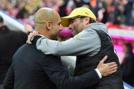 Klopp anggap Guardiola manajer  terbaik di dunia