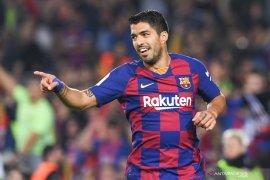 Pemain Barcelona Luis Suarez ingin bermain di MLS
