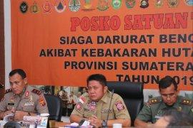 Satgas gabungan evaluasi penanggulangan karhutla Sumsel selama 2019