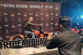 Pecinta motor Harley-Davidson gelar pertemuan nasional pertama di Bandung