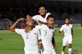 Kalahkan Hong Kong 4-0, Timnas U-19 Indonesia kokoh puncak Grup K