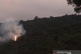 Kebakaran landa tiga hektare hutan lindung Gunung Salak Sukabumi