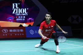 Jojo tantang Anders Antonsen dari Denmark di perempat final Fuzhou China Open