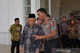 Ma'ruf Amin: Isu penerapan hukum Islam dan pengembangan dakwah  jadi tantangan bangsa Indonesia