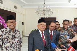 Ahok dan Antasari dikabarkan calon dewan pengawas KPK, ini kata  Wapres  Ma'ruf Amin