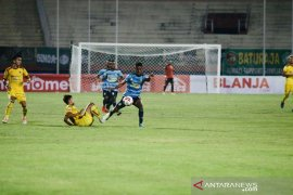 Delapan besar Liga 2: Dikalahkan Sriwijaya, pelatih Persewar bilang pemainnya kurang fokus