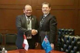 Bertemu Senat Australia, Ketua DPD RI La Nyalla Mattalitti tegaskan integritas Papua
