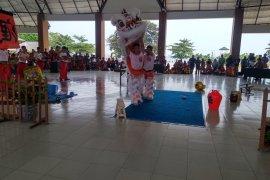 Kejuaraan barongsai di Belitung diikuti sembilan negara
