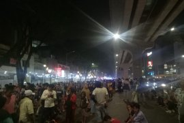 Pasca penertiban pedestrian Sudirman Palembang sudah tertata kembali