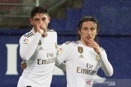 Real Madrid lumat tuan rumah Eibar