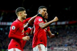 Hasil Liga Inggris, MU tundukkan Brighton 3-1
