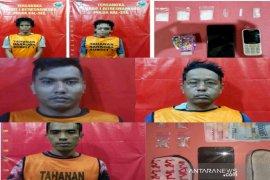 Lima buruh di Banjarmasin diketahui edarkan narkoba